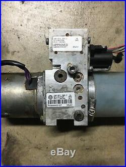 07-13 Volkswagen Eos Convertible Power Folding Hard Top Hydraulic Pump Motor