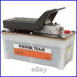 10000 Psi Power Team Pa6 Air Driven Hyd Pump 9-8000