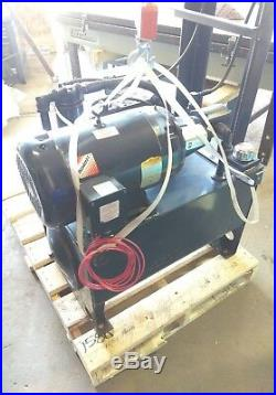 10Hp 20 Gallon Hydraulic Power Unit with directional valves/solenoids and gauges