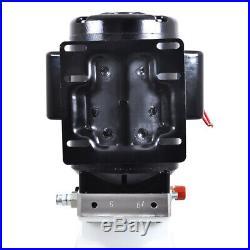 10L 220V Single Acting Hydraulic Pump Dump Trailer Control Kit Crane Power Unit