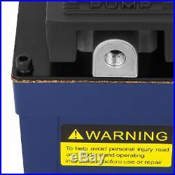 10,000 PSI 10 Ton Power Hydraulic Air Foot Pump Control Lift 120PSI