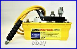 10,000 psi Air Over Hydraulic Power Pack With 2 Meter Hose and Couplers