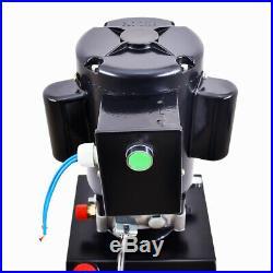 10/14L Single Acting Hydraulic Pump Dump Trailer Power Unit 220V Unit Pack