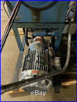 10 Hp Hydraulic Power Unit 10 GPM Pump Macmillin S-29240 460V 3 Phase