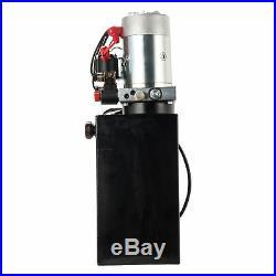 10 Quart Double Acting Hydraulic Pump Dump Trailer 12v Unit Pack Power Unit