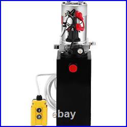 10 Quart Single Acting Hydraulic Pump Dump Trailer Unit Pack Car Power Unit