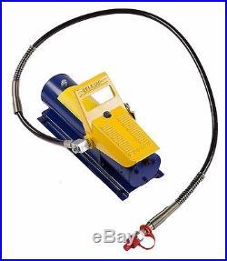 10 Ton Foot Control Hydraulic Air Foot Pump For 10 Ton Porta Power 170 PSI new