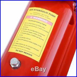 10 Ton Porta Power Hydraulic Air Jack Foot Pump Control Lift Tool Hose 170PSI