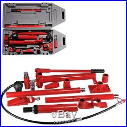 10 Ton Porta Power Hydraulic Air Pump, Spreader, Ram Blow Mold Case With Wheels