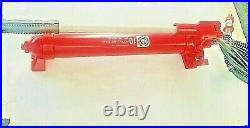 10 Ton Porta Power Pump (Red) Mac Tools with 6' Hydraulic Hose and 1/4 coupler
