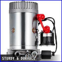 12 Quart Single Acting Hydraulic Pump Dump Trailer Unloading Power Unit Car