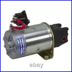 12 Volt DC 1.1 GPM 2000 PSI MTE D203-4852 Hydraulic Power Unit 9-12818