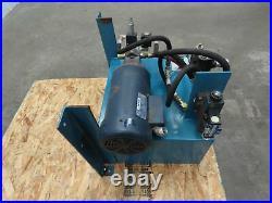 13 Gallon 2 hp Hydraulic Power Unit, 208-230/460v 3ph, Viking Pump