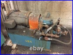 15Hp Dayton Hydraulic Power Pumping Unit 40 Gal 230/460V Vickers Pump Hydraulics