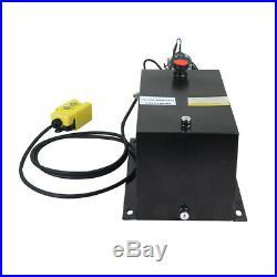 16 Quart Hydraulic Pump Dump Trailer Hydraulic Power Unit Steel/Single Acting