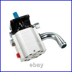 19.5 GPM 2-Stage Hydraulic Pump for Dirty Hand Tools Gas Powered Log Splitters