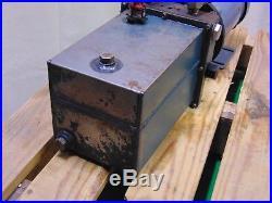 1 HP Baldor Electric Motor Hydraulic Power Unit Pump
