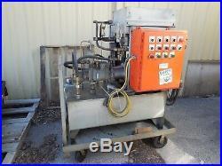 20 Hp Hydraulic Power Unit Portable Test Control Station PVWH20LDFYCNSNTK15