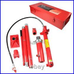 20 Ton Porta Power Hydraulic Jack Air Pump Lift Ram Body Frame Repair Tool US
