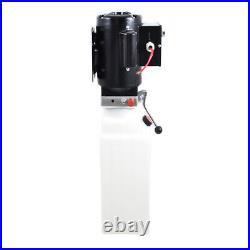 220V 10L Single Acting Hydraulic Pump Dump Hydraulic Power Unit Car Trailer Lift
