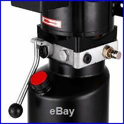 220V Car Lift Hydraulic Power Unit 3.5 Gal Auto Lift Hydraulic Pump Lift Gates