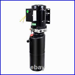 220V Hydraulic Trailer Pump Electric Single Single Acting Power Unit 10/14L