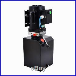220V Manual Control Car Lift Hydraulic Power Lifting Unit Single Acting New