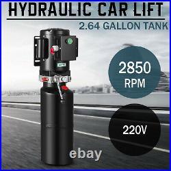 220v Car Lift Hydraulic Power Unit Auto Lifts Hydraulic Pump 10l Vehicle Hoist