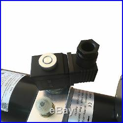 24VDC hydraulic pump single acting power pack 2000psi 1qt steel PPD-24-800-76S