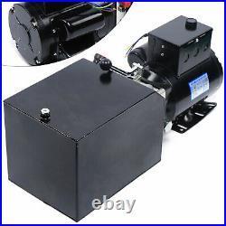 2.2KW Auto Car Lift 3HP 3.5Gallon Hydraulic Pump Power Unit+220V 60HZ AC Motor