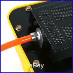 2.3L Air Powered Hydraulic Pump 10,000 PSI Multi-purpose Foot Operated Pump