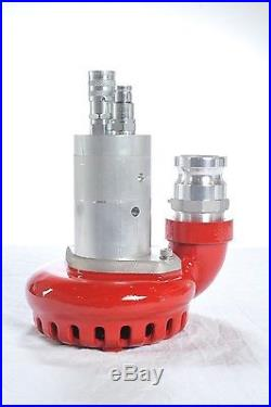 2 Discharge Hydraulically Powered Submersible Water Pump