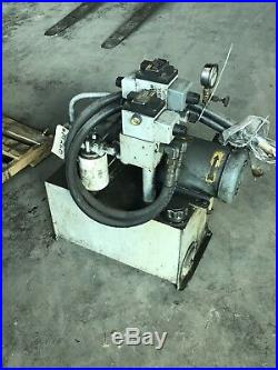 2 Hp Hydraulic Power Units Vickers