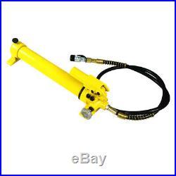 2 Speed Power Pack Hose Coupler 700 bar (10,000 psi) 350cc Hydraulic Hand Pump
