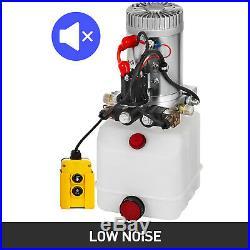 3 Quart Double Acting Hydraulic Pump Dump Trailer Power Unit 12V Control Kit