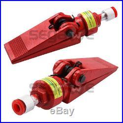 4 Ton Porta Power Hydraulic Jack Air Pump Lift Ram Repair Tool Kit Auto Body New