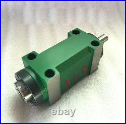 5Bearing MT2 Power Head Morse Taper #2 Drilling Spindle Unit 2HP 3000rpm CNC