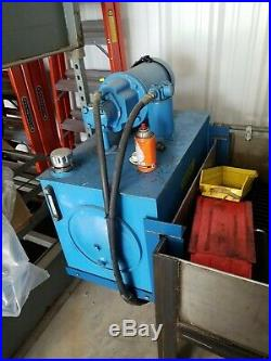 5HP Baldor, Hydraulic Power Unit with 20 Gallon Reservoir (3Phase)