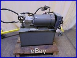 5 HP Variable Displacement Brueninghaus Hydromatik Hydraulic Pump Power Unit