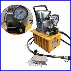 750W 110V 2 Stage Solenoid Valve Electric Hydraulic Pump Power Pack 2 Mpa-70 Mpa