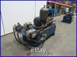 75 GAL Hydraulic Power Unit 15HP 230/460V WithAccumulator VICKERS Pump & Valves