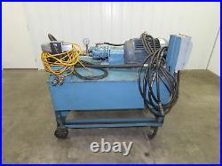 80 Gallon 20 hp Hydraulic Power Unit Vickers PVB10 Piston Pump 230/460v