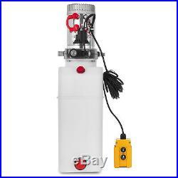 8 L Single Acting Hydraulic Pump Dump Trailer ZZ003835 24V Power Unit