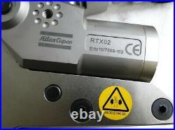 ATLAS COPCO RTX-02 Rapid Torc Power Unit & 36mm Hex Link Hydraulic Torque Tool