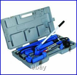 A-T71001S Hydraulic 10 Ton Porta Power Auto Jack Pump Car Body Frame Repair Set