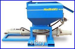 AirPlaco Hydraulic Power Skid Steer Grout Pump PG-10