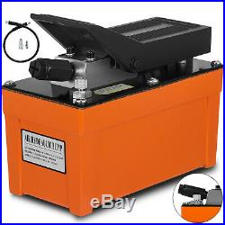 Air Powered Hydraulic Foot Pump 10,000 PSI Rigging Pump Release pressure PRO