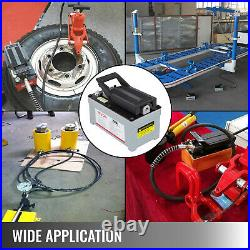 Air Powered Hydraulic Foot Pump 2510A 2- Stage Pump Release Pressure Source