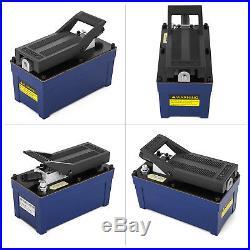 Air Powered Hydraulic Pump 10,000 PSI Power Auto Repair 103 in3 Cap AW-46