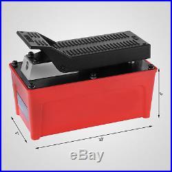 Air Powered Hydraulic Pump 10,000 PSI Quick Power Air Foot Pedal Pump